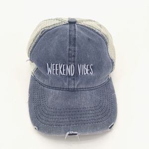 David and Young Weekend Vibes Distressed Hat
